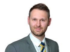 Andrew Harrison, trainee solicitor in dispute resolution in Bishops Stortford